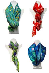 4 tipi di allacciature del foulard