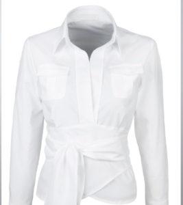 Immagine still life di camicetta bianca